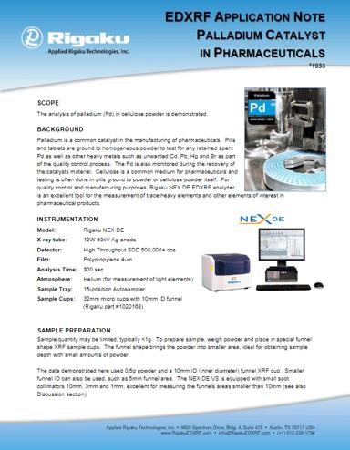 palladium_catalyst_in_pharmaceuticals